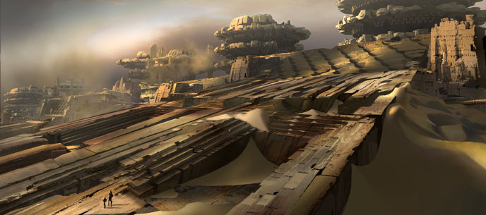 Photo de 'John Carter' - Concept Art ©2011 Disney. JOHN CARTER ERB, Inc. - John Carter (John Carter) - cliquez sur la photo pour la fermer