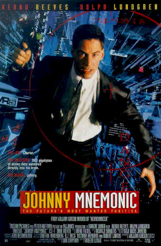 Us poster from the movie Johnny Mnemonic