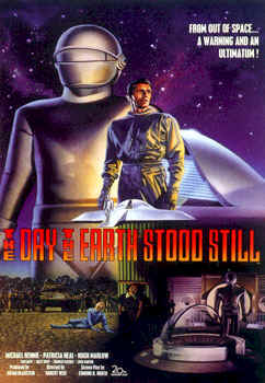 Unknown poster from the movie The Day the Earth Stood Still
