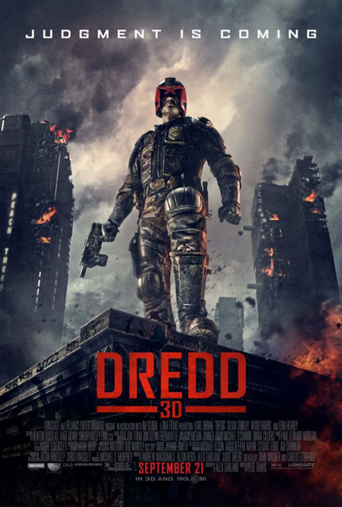 Unknown poster from the movie Dredd