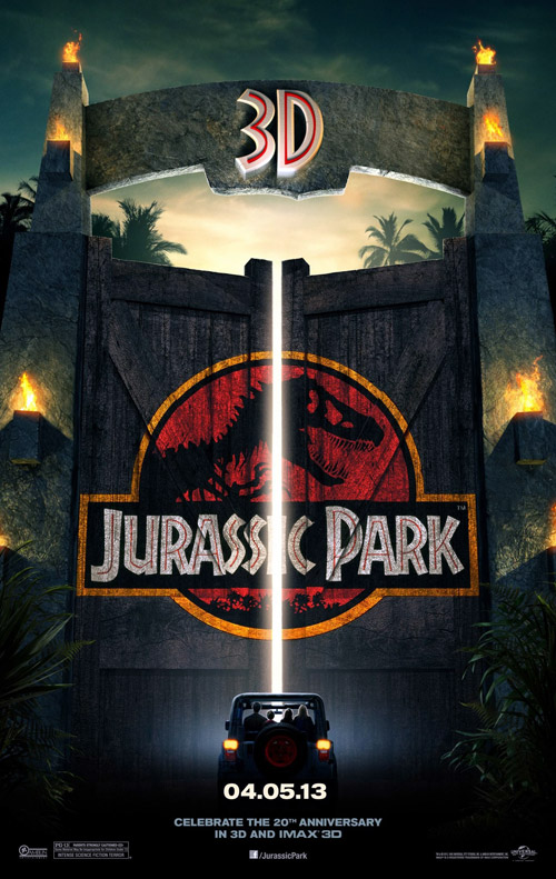 Us poster from the movie Jurassic Park