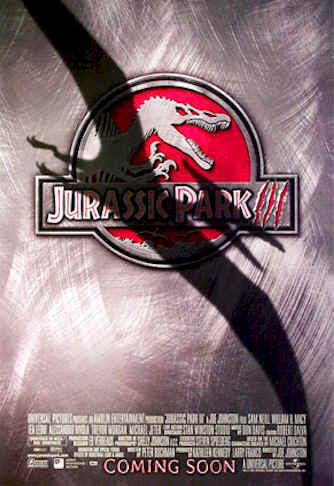 Us poster from the movie Jurassic Park III