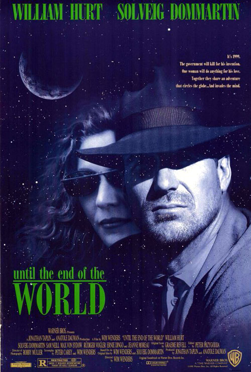 Us poster from the movie Until the End of the World (Bis ans Ende der Welt)