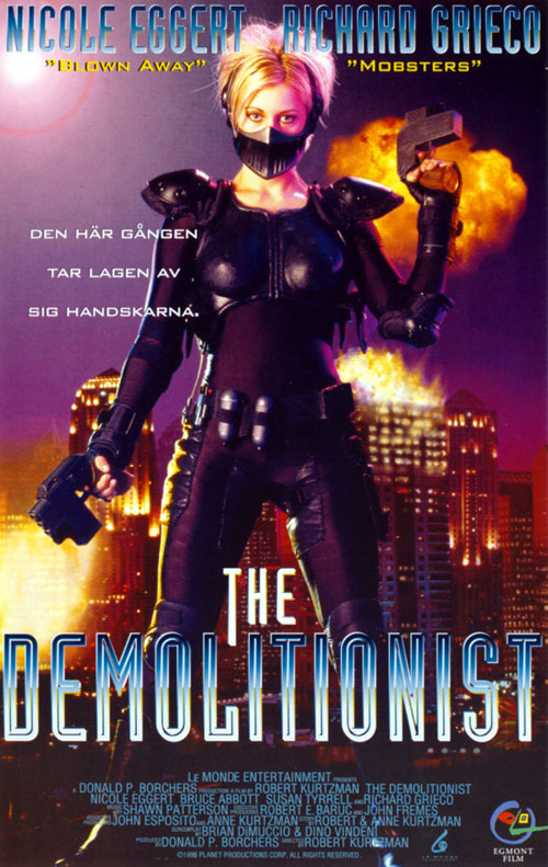 Unknown poster from the movie The Demolitionist