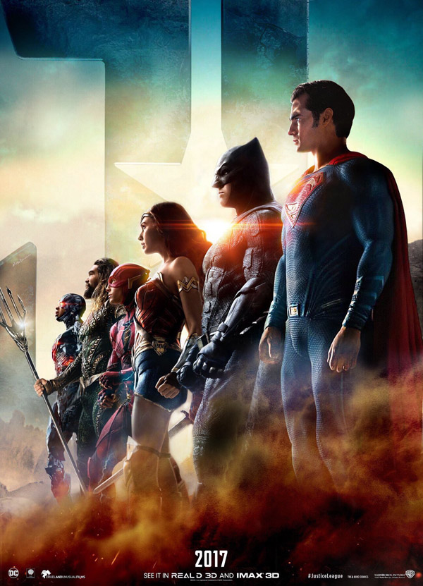 Us poster from 'Justice League'