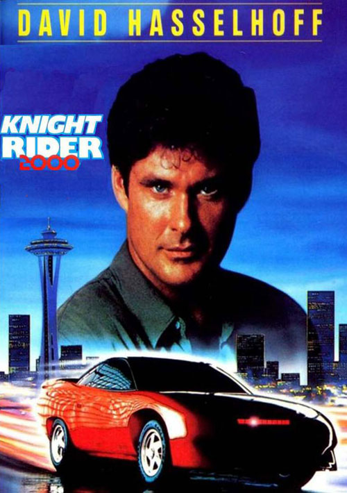 Unknown poster from the TV movie Knight Rider 2000