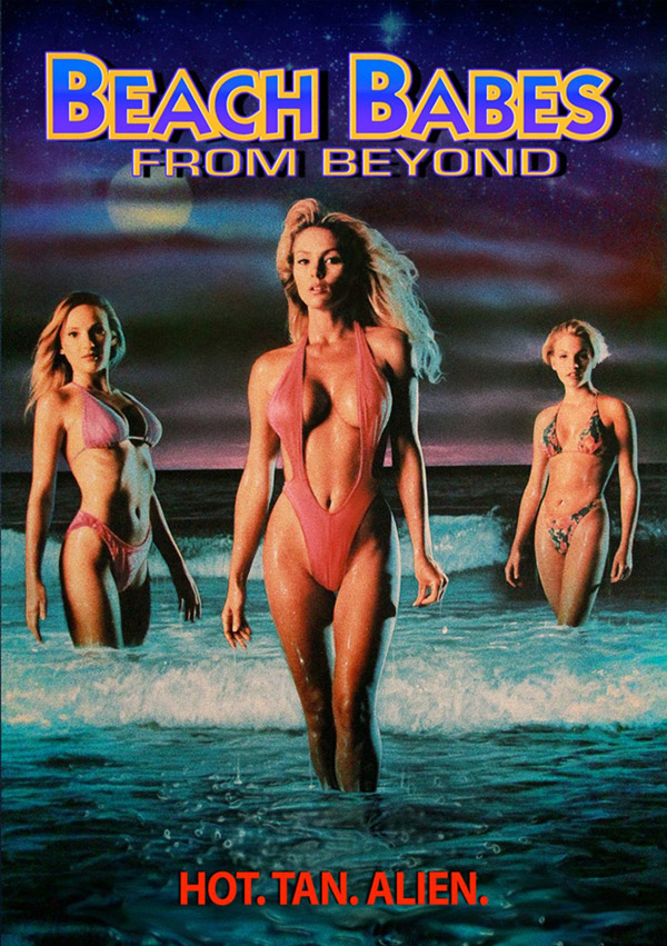 Us poster from the movie Beach Babes from Beyond