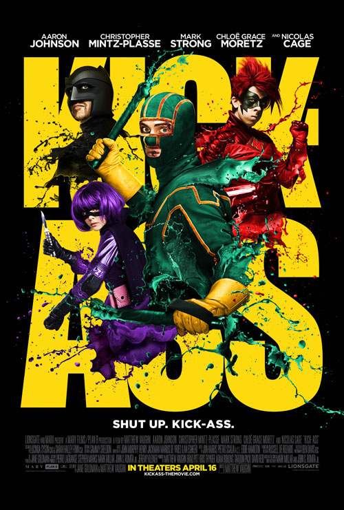 Us poster from the movie Kick-Ass
