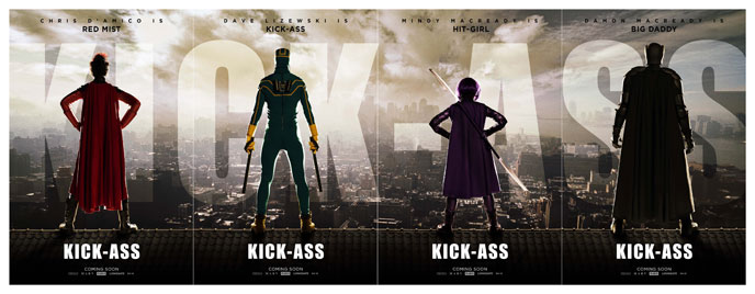 Affiche américaine de 'Kick-Ass'