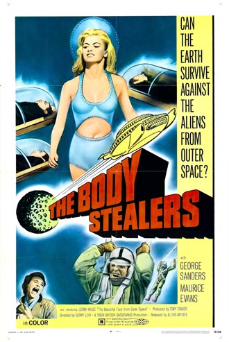 Unknown poster from the movie The Body Stealers