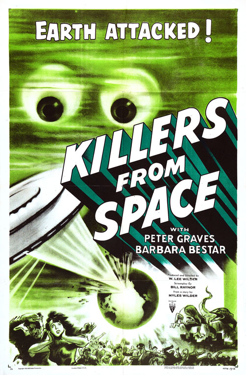 Us poster from the movie Killers from Space