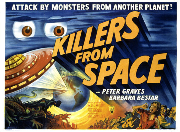 Affiche inconnue de 'Killers From Space'