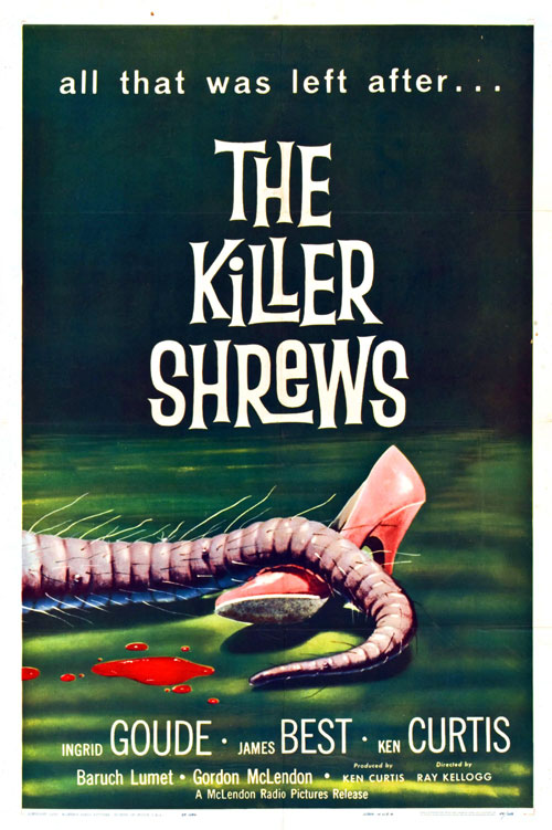 Us poster from the movie The Killer Shrews