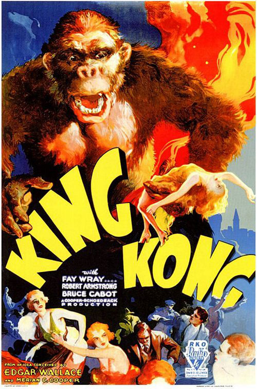 Unknown poster from the movie King Kong