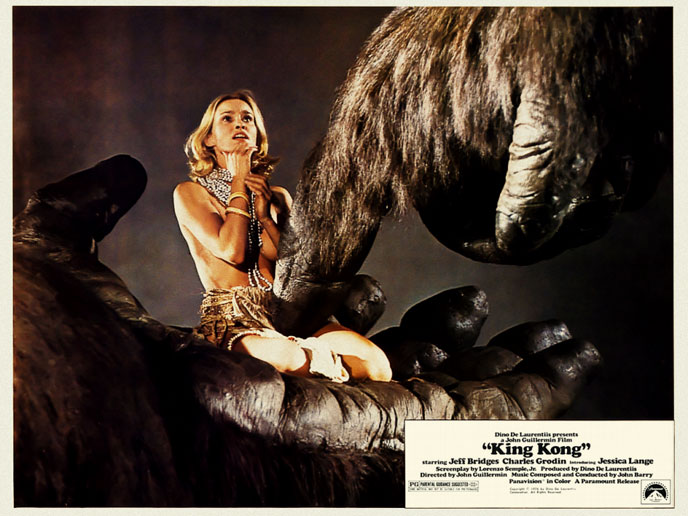 Photo de 'King Kong' - ©1976 Paramount - King Kong (King Kong) - cliquez sur la photo pour la fermer