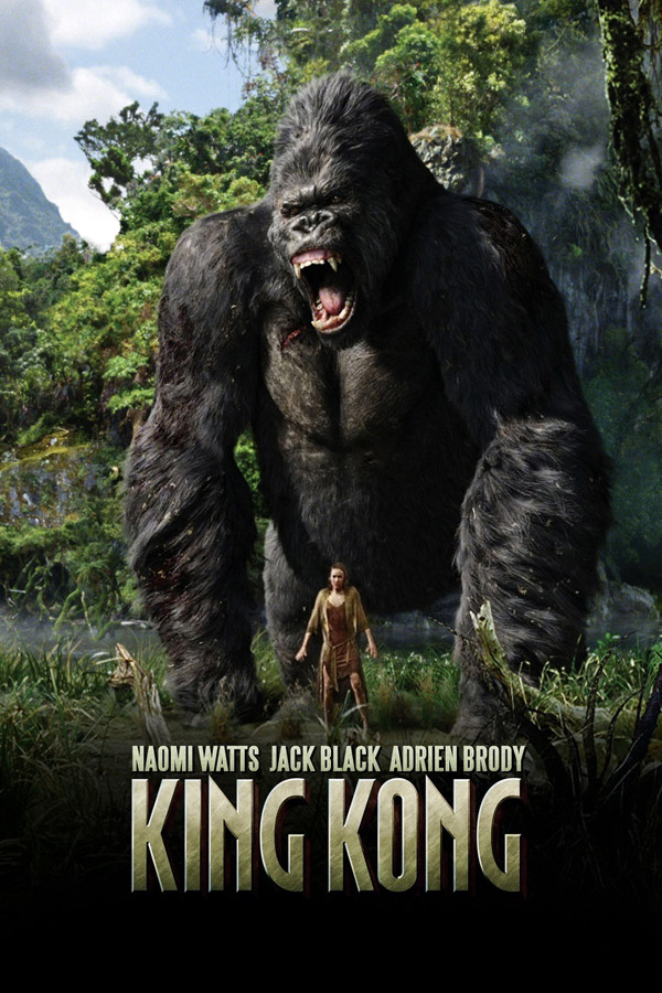 Affiche internationale de 'King Kong'