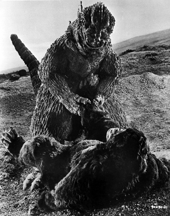 Photo de 'King Kong contre Godzilla' - ©1962 Toho - King Kong contre Godzilla (Kingu Kongu tai Gojira) - cliquez sur la photo pour la fermer