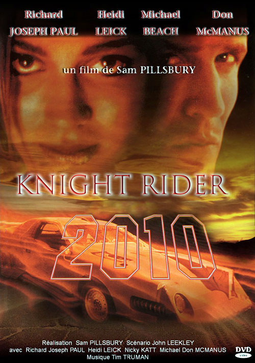 French poster from the TV movie Knight Rider 2010