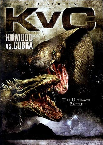 Unknown artwork from the TV movie Komodo vs. Cobra
