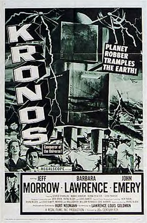 Unknown poster from the movie Kronos