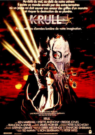 French poster from the movie Krull