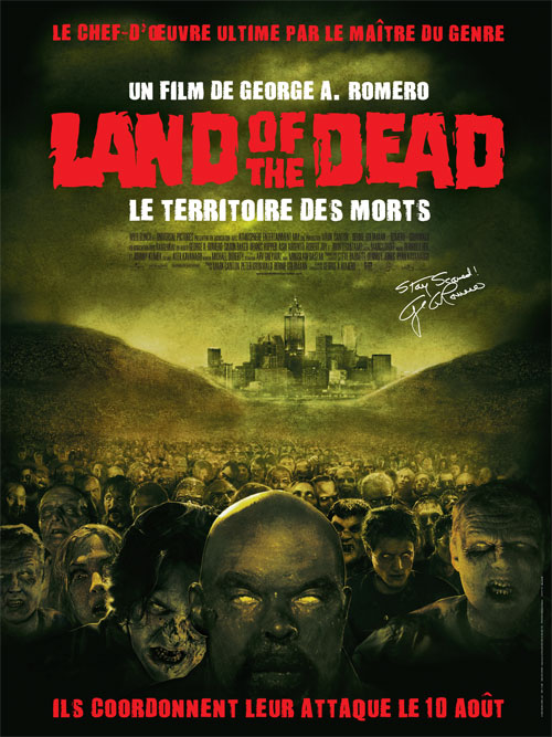 Affiche française de 'Land of the Dead - Le territoire des morts'
