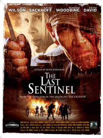 Us poster from the movie The Last Sentinel