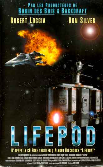 French poster from the TV movie Lifepod