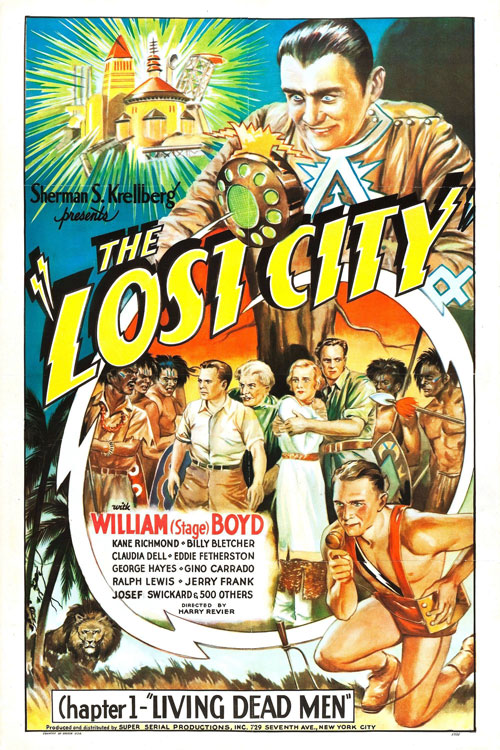 Us poster from the movie The Lost City