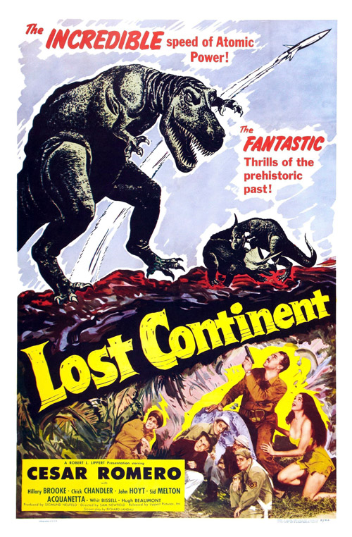 Us poster from the movie Lost Continent