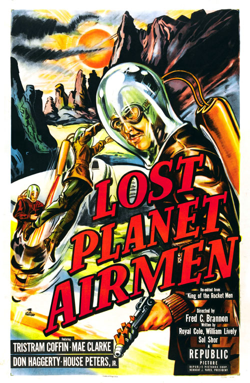 Us poster from the movie Lost Planet Airmen