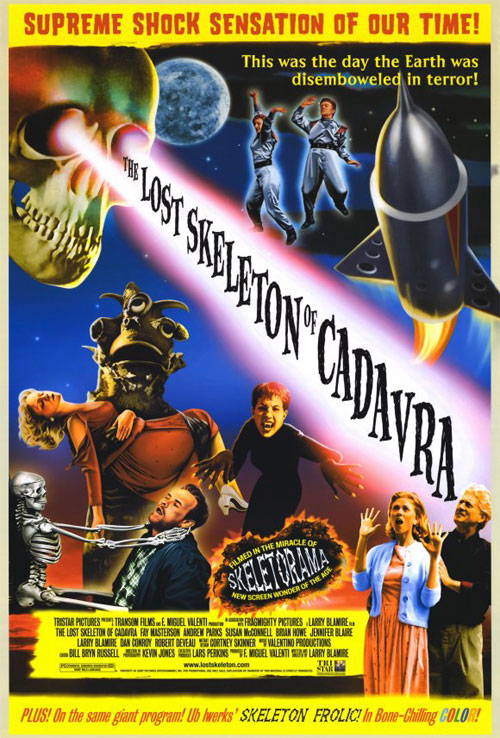 Us poster from the movie The Lost Skeleton of Cadavra