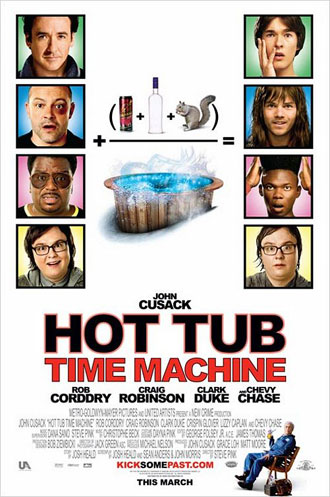 Us poster from the movie Hot Tub Time Machine