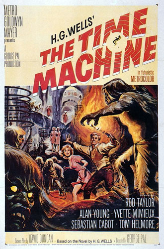 Us poster from the movie The Time Machine
