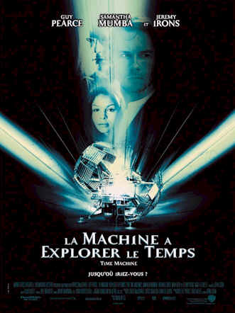 Affiche française du film La machine à explorer le temps (The Time Machine)