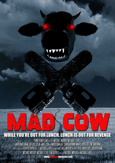 Affiche sud africaine de 'Mad Cow'