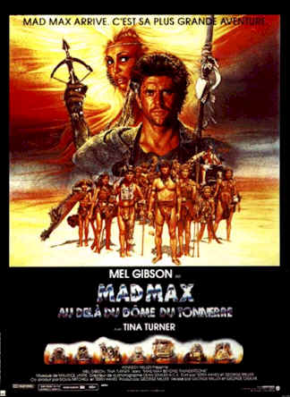 French poster from the movie Mad Max 3 : Beyond Thunderdome (Mad Max Beyond Thunderdome)