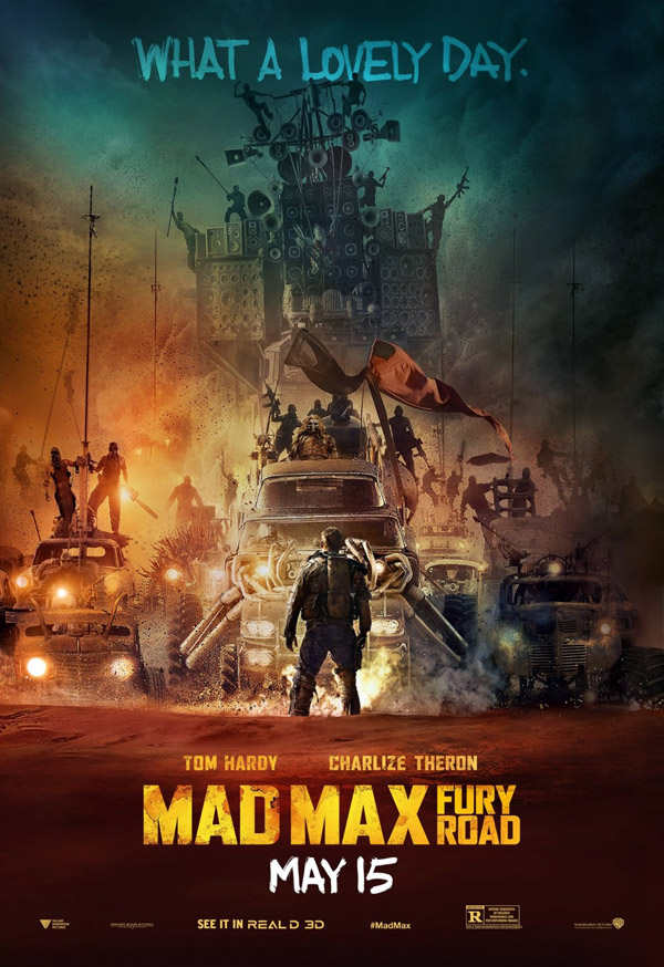 Affiche américaine de 'Mad Max : Fury Road'