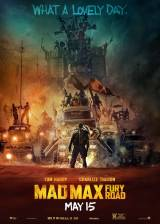 Movie poster from Mad Max: Fury Road, in theaters on May 15, 2015