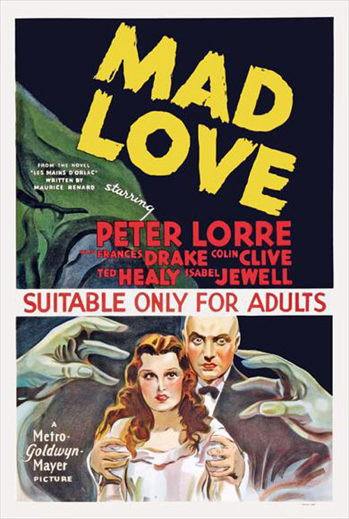 Us poster from the movie Mad Love