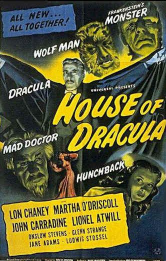 Us poster from the movie House of Dracula