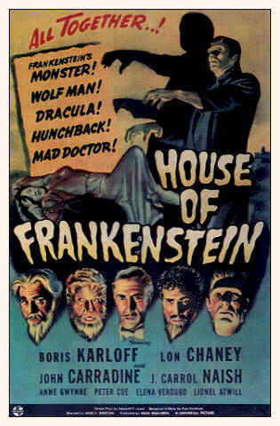 Unknown poster from the movie House of Frankenstein