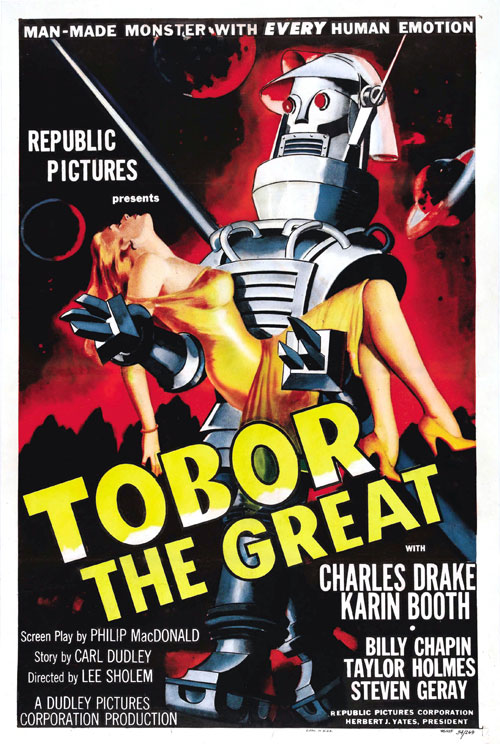 Us poster from the movie Tobor the Great