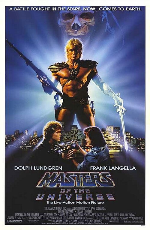Us poster from the movie Masters of the Universe