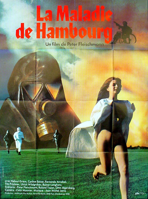 French poster from the movie The Hamburg Syndrome (Die Hamburger Krankheit)