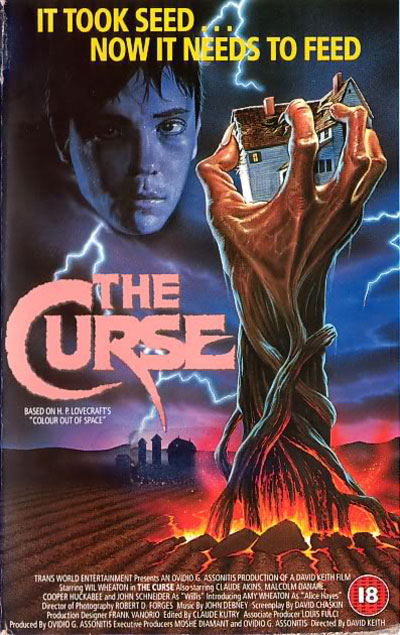 Unknown artwork from the movie The Curse