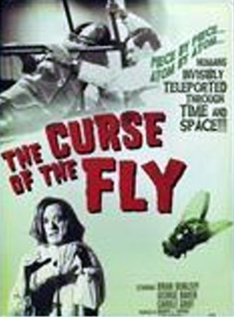 French poster from the movie The Curse of the Fly (Curse of the Fly)