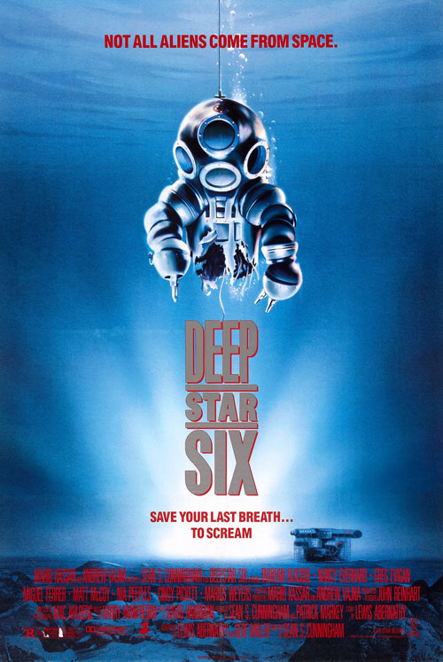 Us poster from the movie DeepStar Six