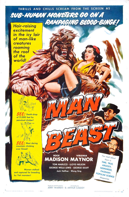 Us poster from the movie Man Beast