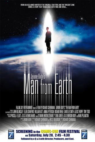 Affiche américaine de 'The Man from Earth'